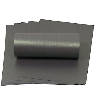 10 fogli abbagliano carta A4 verde con perlescente scintillante decorativo unilaterale 300gsm