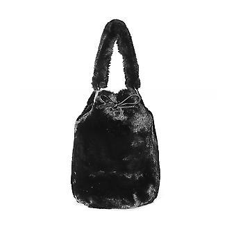 Stand Studio Scarlet Faux Fur Bucket Bag