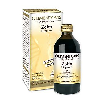 ORGANIC ZOLFO OLIMENTOV 200ML 200 ml