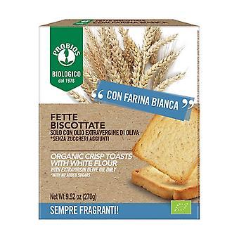 White flour rusks - sugar free 270 g