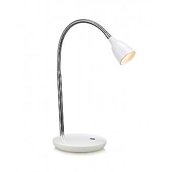 Tulpe Weiß Tisch lampe 1 Glühbirne