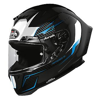 Airoh GP550S Venom Full Face Motorcycle Helmet Black ACU Approved