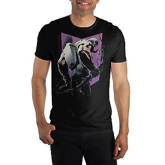 Venom symbiote hawkeye with bow venomized shirt for men