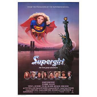 Supergirl-Film-Plakat-Druck (27 x 40)