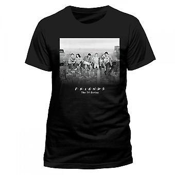 Amigos Unisex adultos rascacielos diseño camiseta