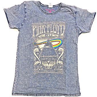 Pink Floyd Carnegie Hall Official Tee T-Shirt Unisex