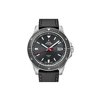 Reloj masculino militar suizo por Chrono SM34082.06, cuarzo, 42 mm, 5ATM