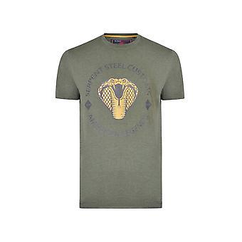 KAM Jeanswear Serpent Steel Club T-Shirt