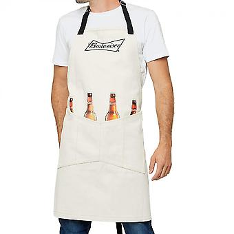 Budweiser King of Beers Grill Master Collection Apron with Pockets