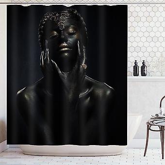 Shower Curtain Bathroom, Waterproof, Curtains Hanging For Home Decoration