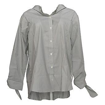 Attitudes par Renee Women's Top Elastic Back Wrinkle Resist Shirt A351895