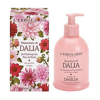 Shades of Dalia Face and Hand Cleansing Gel 280 ml of gel (Citric - Floral)