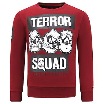 Sweater With Print - Terror Beagle Boys - Bordeaux