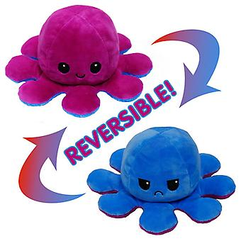 Reversible Octopus Doll Double-sided Flip Plush Toy Kids Gift
