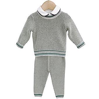 Vauvan neulotut vaatteet - Neuloa Pullover + Housut