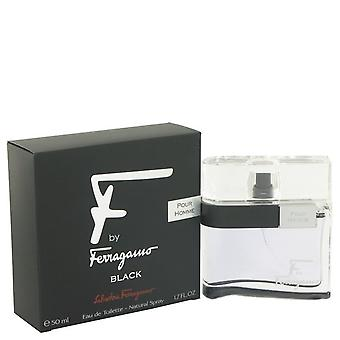 F Black Eau De Toilette Spray By Salvatore Ferragamo 1.7 oz Eau De Toilette Spray