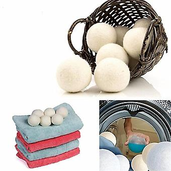 Wool Dryer Reusable Natural Organic Laundry Fabric Softener Ball