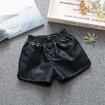 Tavaszi őszi bőr rövidnadrág Baby Kids ruhák