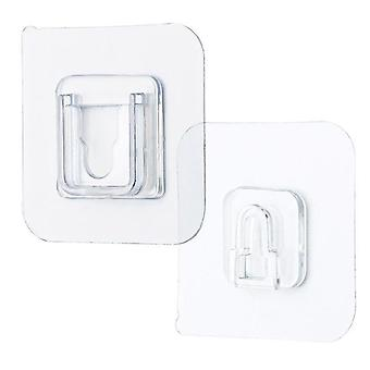 Double-sided Self Adhesive Wall Hooks