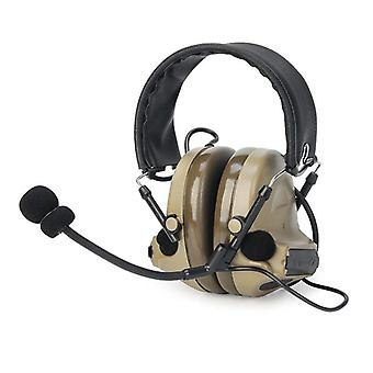 Casque Peltor Active Noise Reduction Two Modes For Walkie-talkie Softair