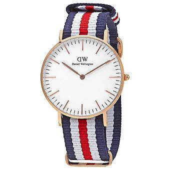 Daniel Wellington Classic Canterbury White Dial Hombres's Reloj DW00100030