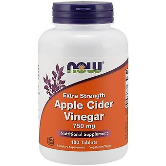 Now Foods Apple Cider Vinegar 750 mg Extra Strength 180 Tablets
