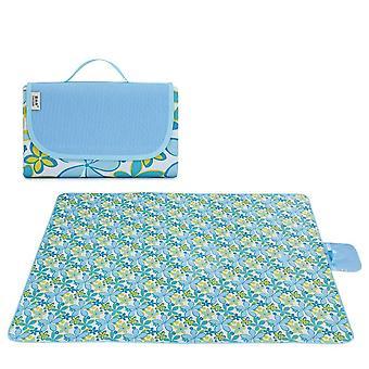 Bærbar utendørs piknik mat strandmatte vanntett camping teppe yspm-64