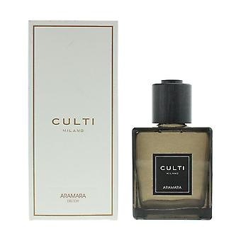 Culti Milano Decor Diffuser 500ml - Aramara - Sticks Not Included In The Box