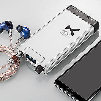 新しいxduoo xd-05プラスポータブルオーディオDACアンプヘッドフォンアンプデュアル交換可能なオペアンプ32ビット/ 384 khzのhifiポータブルdsd