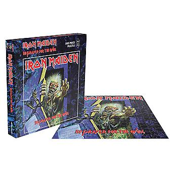 Iron Maiden Jigsaw Puzzle No Prayer For The Dying new Official Black 500 Piece