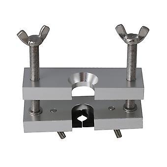 Substituição do puxador de bocal de trompete para instrumentos de latão-vento prata