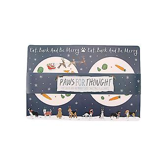 CGB Giftware Christmas Doggy Placemat