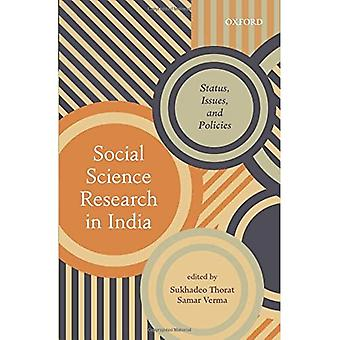 Social Science Research in India: Status, Issues, and Policies