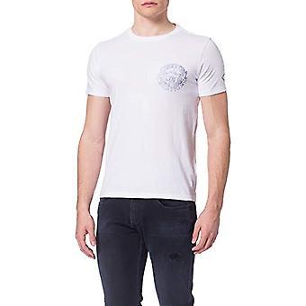 REPLAY M3384C T-Shirt, 001 White, XXXL Men's