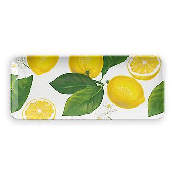 Epicurean Lemon Fresh Melamine Rectangle Platter