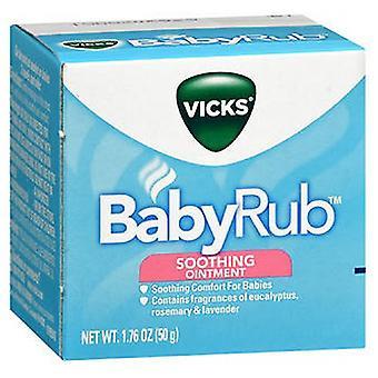 Vicks Vicks Babyrub Soothing Ointment, 1.76 Oz