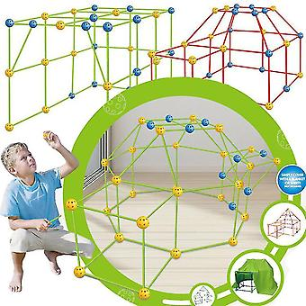 Kids Construction Fort Building Kit 88 pezzi Ultimate Forts Builder Gift