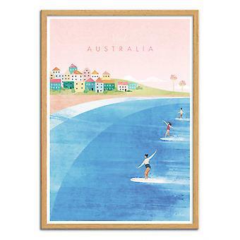 Art-Poster - Visit Australia - Henry Rivers
