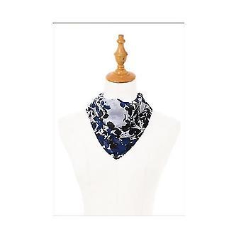 35 Silk Feeling 90 cm kwadratowy szalik do spania szyi dla kobiet (DARKBLUE)