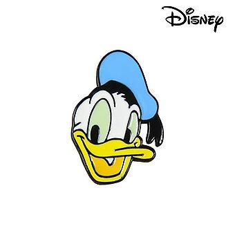 Pin Donald Disney Metall Hvit