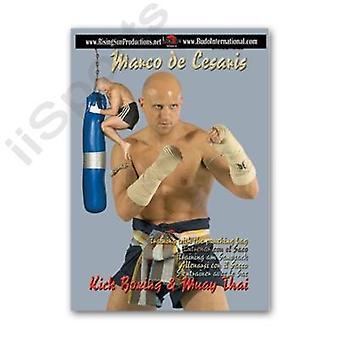 Muay Thai Boran Punching Kicking Bag Travail Dvd Look Mai Mai Mae Arjarn Cesaris -Vd6929A