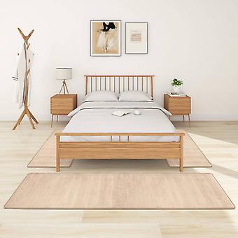 vidaXL lit à hauteflor 3 pcs beige