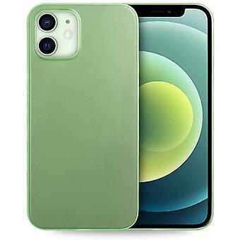 UltraSlim Hülle kompatibel für iPhone 12 Mini (5,4 Zoll), Ultra Dünn Fein Matt Handyhülle Cover