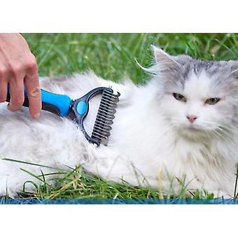 Peigne râteau à bord rond chien et chat