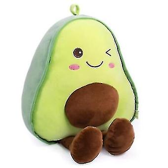 Snuggly täytetty avokado hedelmä pehmeä pehmolelu halaus tyyny lahjat lapsille (45cm)