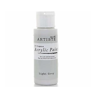 Ljusgrå docrafts Artiste All Purpose Akryl Craft Paint - 59ml
