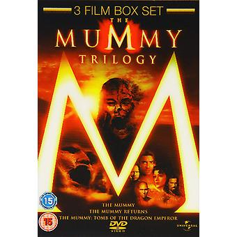 Mummy/The Mummy Returns/The Mummy - Tomb Of The Dragon Keizer DVD