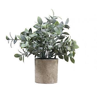 Piante artificiali in vaso piante in vasi per l'arredamento domestico Ufficio Decorazione scrivania (Stile1)