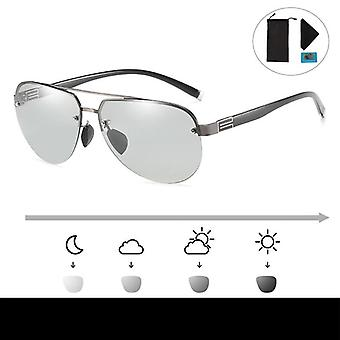 Classic Anti-glare Glasses For Driving Polarized Sunglasses, Day Night Vision
