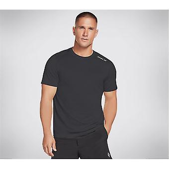 Skechers Mens Skech Air T-Shirt Short Sleeve Performance T Shirt Tee Top